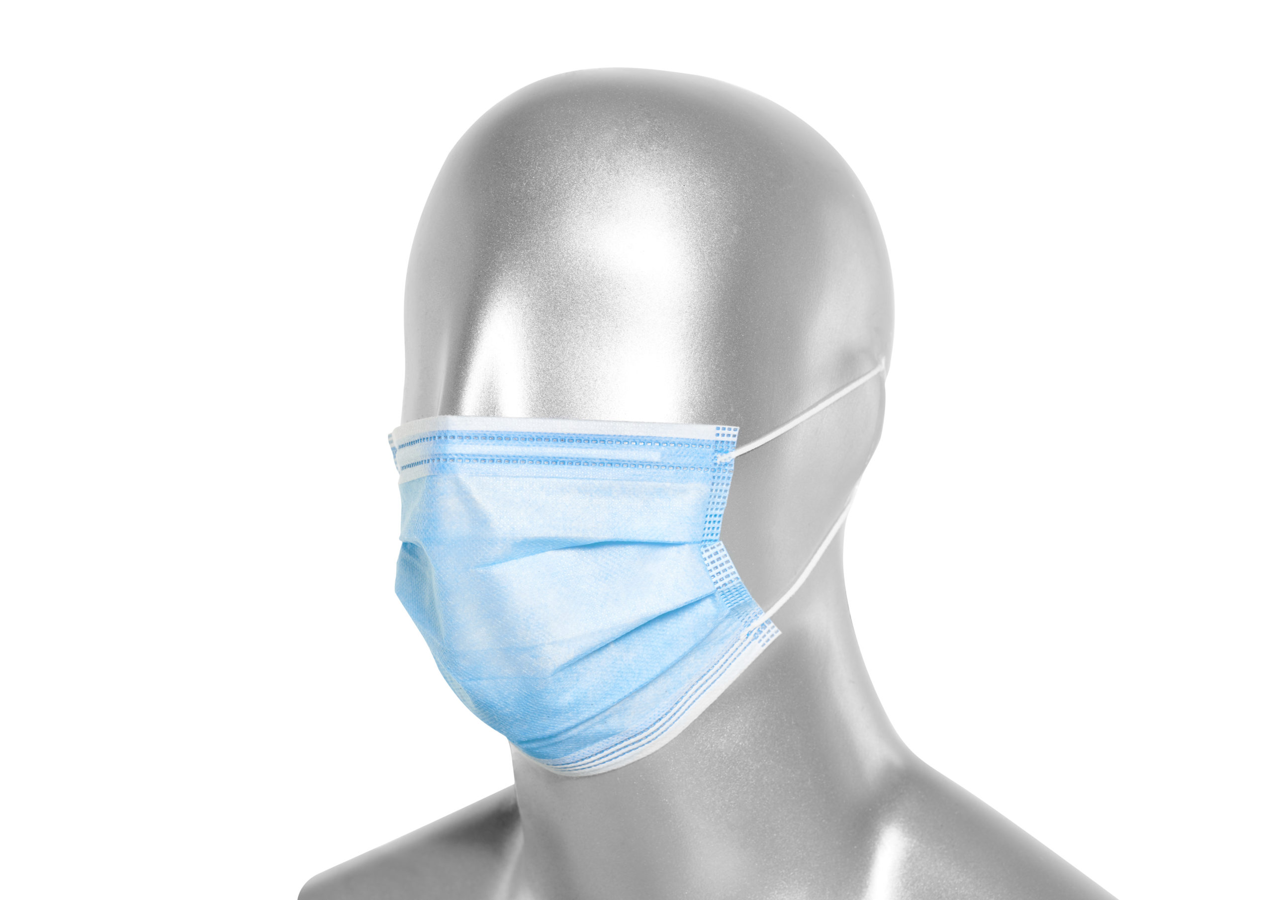 50er Packung medizinischer Mund-Nasen-Schutz / OP-Maske ...